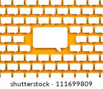 communication concept | Shutterstock . vector #111699809