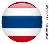 vector   thailand flag glossy... | Shutterstock .eps vector #111700235