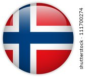 Vector   Norway Flag Glossy...