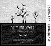 Halloween Vector Card  Or...