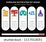 5 vector icons such as...   Shutterstock .eps vector #1117013051
