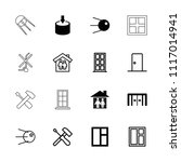 inside icon. collection of 16... | Shutterstock .eps vector #1117014941