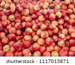 Some Bright Ripe Peaches On...