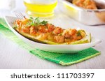 stuffed squash | Shutterstock . vector #111703397