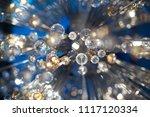 beautiful abstract yellow light ... | Shutterstock . vector #1117120334