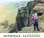 dyrholaey   iceland   june 10 ...   Shutterstock . vector #1117121021
