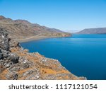 summer mountain landscape with... | Shutterstock . vector #1117121054