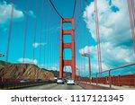 Driving Through Golden Gate...
