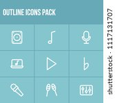 melody icon set and play with...