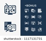 creative process icon set and...   Shutterstock .eps vector #1117131731