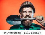 construction industry concept.... | Shutterstock . vector #1117135694