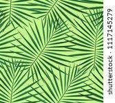 tropical pattern seamless... | Shutterstock .eps vector #1117145279