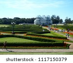 panoramic view of the botanical ... | Shutterstock . vector #1117150379