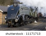Steam Train Pulling Out Of The...