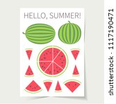 vector illustration eps 10  set ... | Shutterstock .eps vector #1117190471