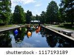 st. louis botanical garden | Shutterstock . vector #1117193189