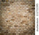 background of brick wall texture | Shutterstock . vector #111721595