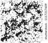 dark grunge chaotic pattern.... | Shutterstock . vector #1117217609