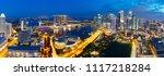 singapore city skyline ...   Shutterstock . vector #1117218284