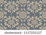 seamless luxury decorative... | Shutterstock .eps vector #1117231127