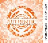 authentic abstract orange...   Shutterstock .eps vector #1117240325