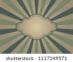 sunlight retro faded wide... | Shutterstock .eps vector #1117249571