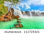 Beautiful Dry Nur Waterfall In...
