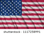 united states of america flag ...   Shutterstock . vector #1117258991