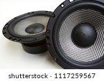 car audio system | Shutterstock . vector #1117259567