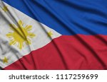 philippines flag  is depicted...   Shutterstock . vector #1117259699