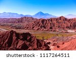 view on volcano licancabur in...   Shutterstock . vector #1117264511