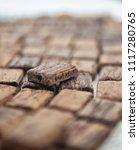 chocolate  display single... | Shutterstock . vector #1117280765