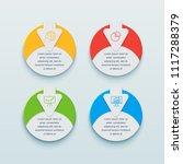infographics business design...   Shutterstock .eps vector #1117288379