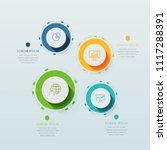 business infographics template...   Shutterstock .eps vector #1117288391