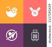 modern  simple vector icon set... | Shutterstock .eps vector #1117292429