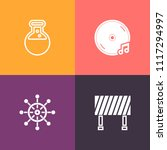 modern  simple vector icon set... | Shutterstock .eps vector #1117294997