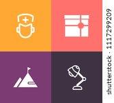 modern  simple vector icon set... | Shutterstock .eps vector #1117299209