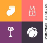 modern  simple vector icon set... | Shutterstock .eps vector #1117312121