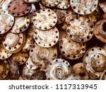 scrap car and machinery parts.... | Shutterstock . vector #1117313945
