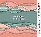vector background with pastel... | Shutterstock .eps vector #1117324427
