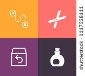 modern  simple vector icon set... | Shutterstock .eps vector #1117328111