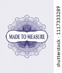 blue passport money rossete...   Shutterstock .eps vector #1117333289