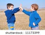 gimme five | Shutterstock . vector #11173399