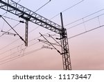 railroads wires | Shutterstock . vector #11173447