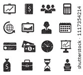 business and finance icons. set ... | Shutterstock .eps vector #1117354214