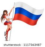 Russian Young Beautiful Woman...