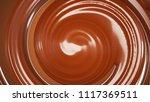 splash  a stream of chocolate....   Shutterstock . vector #1117369511