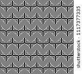seamless pattern with black... | Shutterstock .eps vector #1117377335