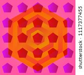 psychological abstraction.... | Shutterstock .eps vector #1117377455