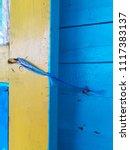 rope looped classroom door... | Shutterstock . vector #1117383137
